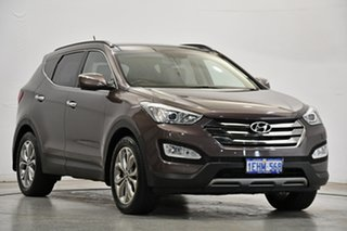 2013 Hyundai Santa Fe DM MY14 Highlander Bronze 6 Speed Sports Automatic Wagon