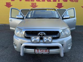 2010 Toyota Hilux MY10 SR5 Silver 5 Speed Automatic Utility.