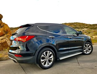 2013 Hyundai Santa Fe DM MY13 Highlander Phantom Black 6 Speed Sports Automatic Wagon.