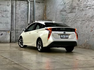 2018 Toyota Prius ZVW50R I-Tech White 1 Speed Constant Variable Liftback Hybrid