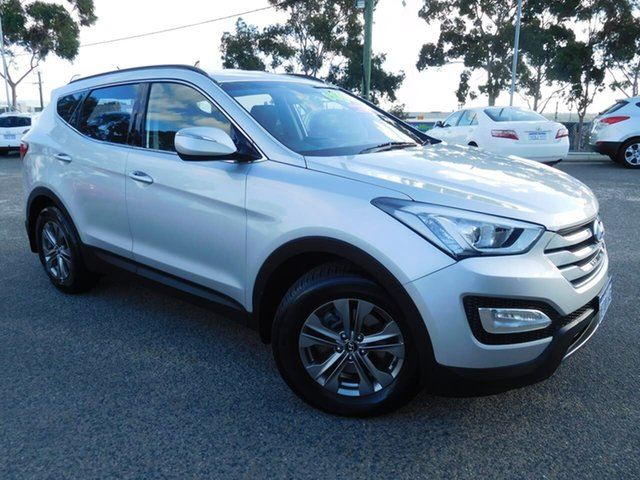 Used Hyundai Santa Fe DM MY14 Active Wangara, 2013 Hyundai Santa Fe DM MY14 Active Silver 6 Speed Sports Automatic Wagon
