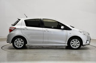 2017 Toyota Yaris NCP131R ZR Silver 4 Speed Automatic Hatchback
