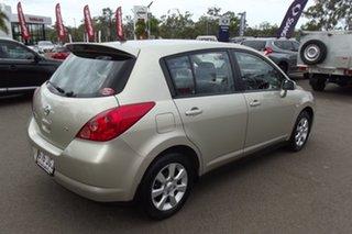 2006 Nissan Tiida C11 Q Gold 4 Speed Automatic Hatchback.