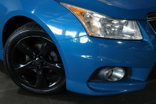 2012 Holden Cruze JH Series II MY12 SRi Blue 6 Speed Manual Hatchback.