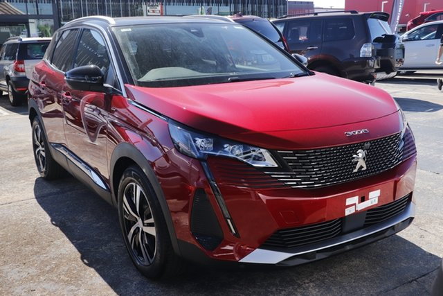 New Peugeot 3008 P84 MY21 GT SUV Cardiff, 2021 Peugeot 3008 P84 MY21 GT SUV Red 6 Speed Sports Automatic Hatchback