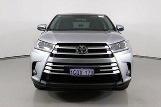 2017 Toyota Kluger GSU50R GX (4x2) Silver 6 Speed Automatic Wagon.
