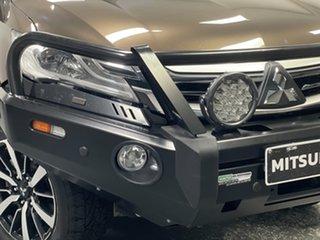 2017 Mitsubishi Pajero Sport QE MY17 GLS Deep Bronze 8 Speed Sports Automatic Wagon.