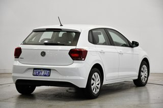 2019 Volkswagen Polo AW MY19 70TSI DSG Trendline Pure White 7 Speed Sports Automatic Dual Clutch