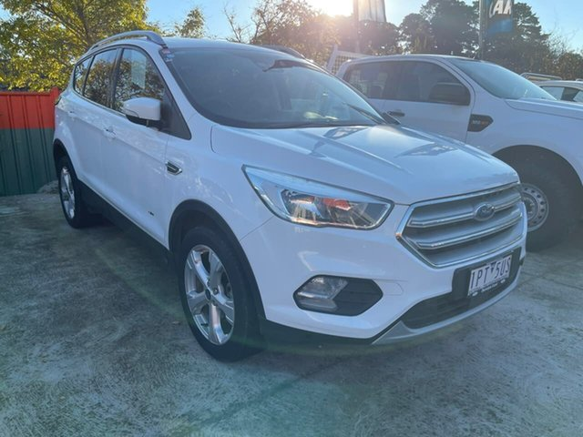 Used Ford Escape ZG 2019.75MY Trend Berwick, 2019 Ford Escape ZG 2019.75MY Trend White 6 Speed Sports Automatic Dual Clutch SUV