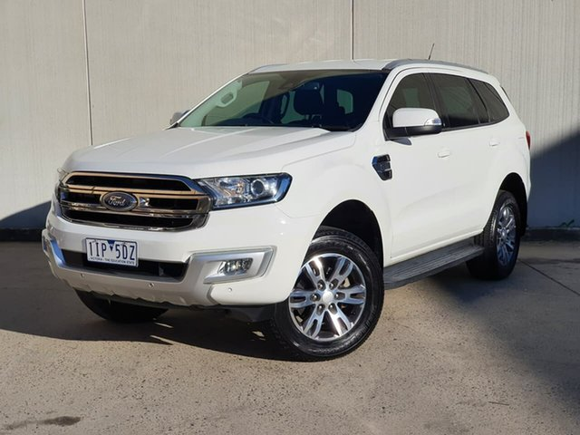 Used Ford Everest UA Trend Oakleigh, 2016 Ford Everest UA Trend White 6 Speed Sports Automatic SUV
