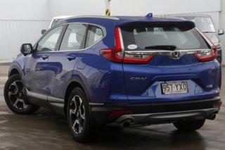 2018 Honda CR-V RW MY19 VTi-S FWD Blue 1 Speed Constant Variable Wagon.