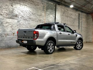 2020 Ford Ranger PX MkIII 2021.25MY Wildtrak Silver 10 Speed Sports Automatic Double Cab Pick Up