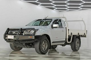 2017 Holden Colorado RG MY18 LS (4x4) Silver 6 Speed Automatic Cab Chassis
