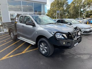 2016 Mazda BT-50 UR0YF1 XT Freestyle Silver 6 Speed Sports Automatic Cab Chassis.