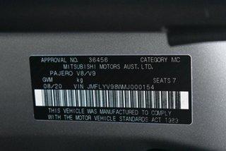 2020 Mitsubishi Pajero NX MY20 GLX Sterling Silver 5 Speed Sports Automatic Wagon