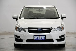 2016 Subaru Impreza G4 MY16 2.0i Lineartronic AWD White 6 Speed Constant Variable Hatchback.