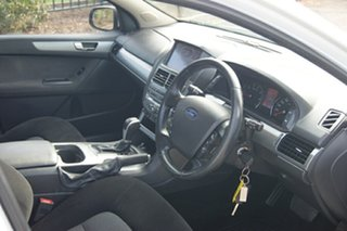 2011 Ford Falcon FG Upgrade G6 White 6 Speed Automatic Sedan