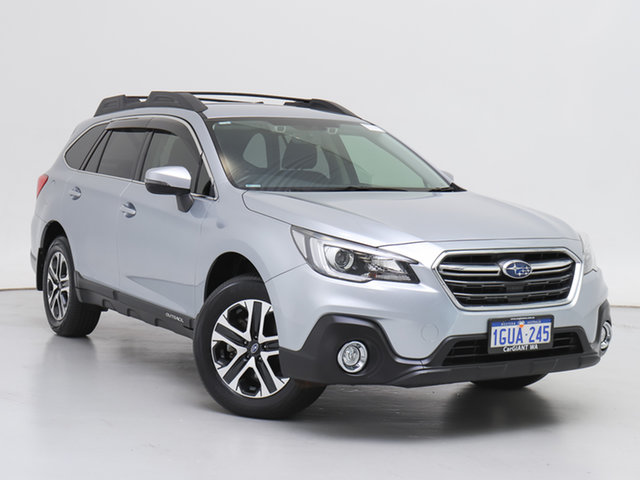 Used Subaru Outback MY18 2.0D AWD, 2019 Subaru Outback MY18 2.0D AWD Silver Continuous Variable Wagon