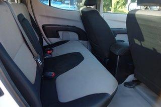 2013 Mitsubishi Triton MN MY13 GLX Double Cab White 5 Speed Manual Utility