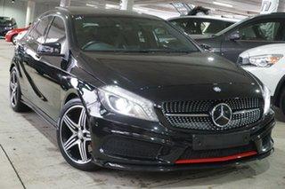 2013 Mercedes-Benz A-Class W176 A250 D-CT Sport Black 7 Speed Sports Automatic Dual Clutch Hatchback.