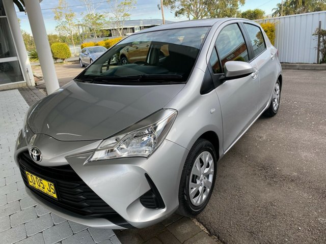Used Toyota Yaris Ascent Taree, 2017 Toyota Yaris Ascent Silver Automatic Hatchback