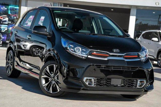 New Kia Picanto JA MY21 GT-Line Reynella, 2021 Kia Picanto JA MY21 GT-Line Black 4 Speed Automatic Hatchback