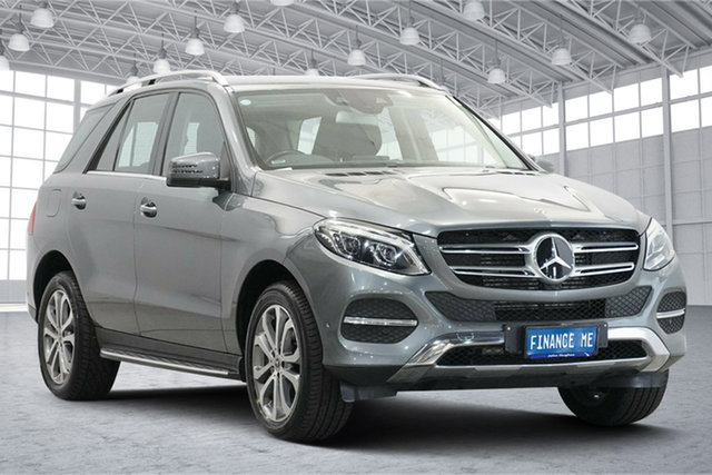 Used Mercedes-Benz GLE-Class W166 807MY GLE250 d 9G-Tronic 4MATIC Victoria Park, 2017 Mercedes-Benz GLE-Class W166 807MY GLE250 d 9G-Tronic 4MATIC Grey 9 Speed Sports Automatic