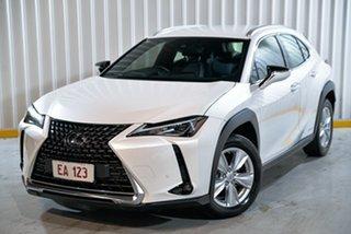 2019 Lexus UX MZAH10R UX250h E-CVT 2WD Luxury White 1 Speed Constant Variable Hatchback Hybrid.