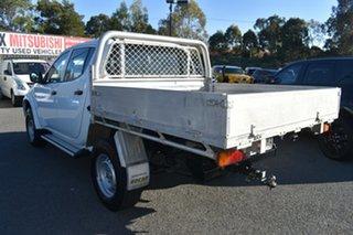 2014 Mitsubishi Triton MN MY15 GLX Double Cab 4x2 White 5 Speed Manual Utility.