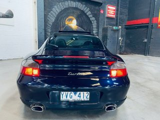 2002 Porsche 911 996 MY02 Turbo AWD Blue 5 Speed Sports Automatic Coupe