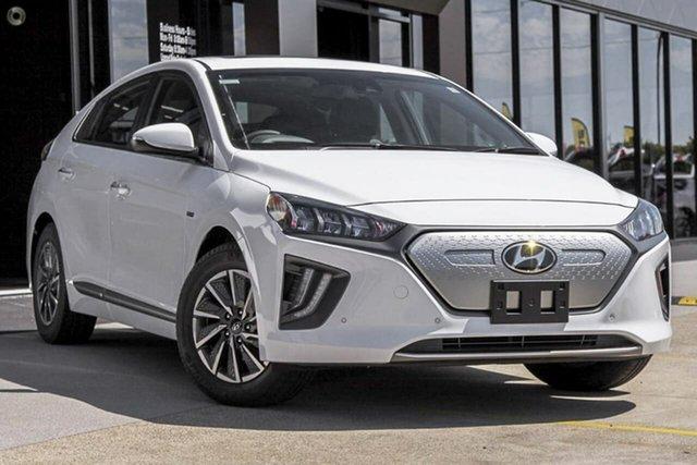 New Hyundai Ioniq AE.V4 MY21 electric Premium Oakleigh, 2021 Hyundai Ioniq AE.V4 MY21 electric Premium White 1 Speed Reduction Gear Fastback