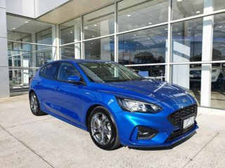 2020 Ford Focus ST-Line Blue 8 Speed Automatic Hatchback.