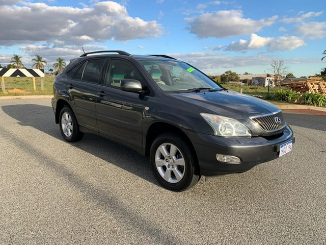 Used Lexus RX330 MCU38R Update Sports Luxury Wangara, 2005 Lexus RX330 MCU38R Update Sports Luxury Grey 5 Speed Sequential Auto Wagon