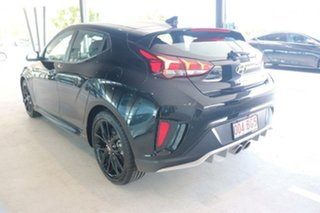 2019 Hyundai Veloster JS MY20 Turbo Coupe D-CT Ultra Black 7 Speed Sports Automatic Dual Clutch