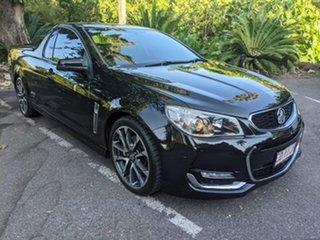 2015 Holden Ute VF II MY16 SS V Ute Black 6 Speed Manual Utility.