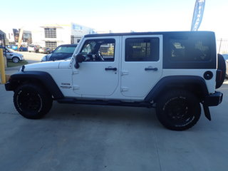 2012 Jeep Wrangler Unlimited JK MY13 Sport (4x4) White 6 Speed Manual Softtop