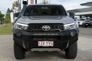 2019 Toyota Hilux GUN126R Rugged X Double Cab Silver Sky 6 Speed Sports Automatic Utility