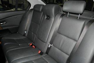 2006 BMW 5 Series E60 530i Steptronic Grey 6 Speed Sports Automatic Sedan