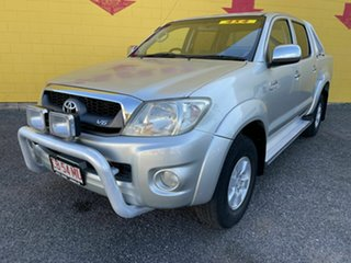 2010 Toyota Hilux MY10 SR5 Silver 5 Speed Automatic Utility