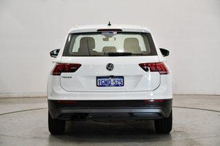 2018 Volkswagen Tiguan 5N MY18 110TSI DSG 2WD Comfortline Pure White 6 Speed