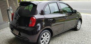 2016 Nissan Micra K13 MY15 TI Black 4 Speed Automatic Hatchback