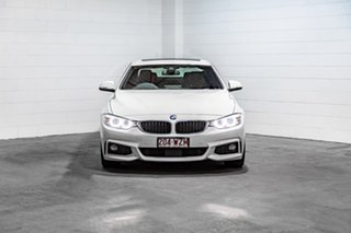 2016 BMW 4 Series F32 420i M Sport White 8 Speed Sports Automatic Coupe