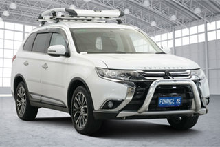 2017 Mitsubishi Outlander ZK MY17 LS 4WD Starlight 6 Speed Constant Variable Wagon.