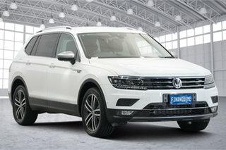 2018 Volkswagen Tiguan 5N MY18 162TSI Highline DSG 4MOTION Allspace White 7 Speed.