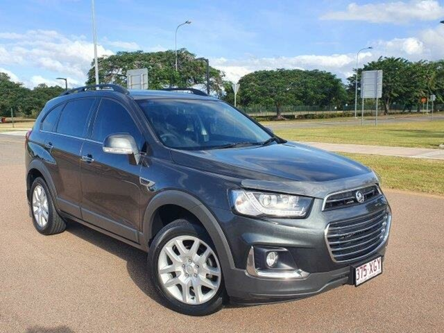 Used Holden Captiva CG MY17 Active 2WD Townsville, 2016 Holden Captiva CG MY17 Active 2WD Grey 6 Speed Sports Automatic Wagon
