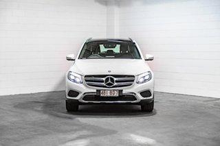 2017 Mercedes-Benz GLC-Class X253 807MY GLC220 d 9G-Tronic 4MATIC White 9 Speed Sports Automatic