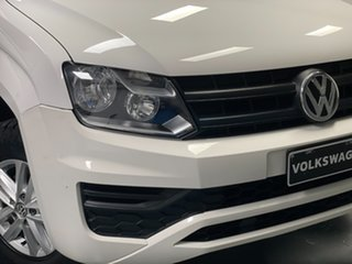 2017 Volkswagen Amarok 2H MY17 TDI420 4MOTION Perm Core Candy White 8 Speed Automatic Utility