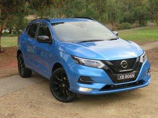 2020 Nissan Qashqai J11 Series 3 MY20 Midnight Edition X-tronic Vivid Blue 1 Speed Constant Variable.
