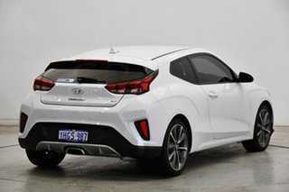 2019 Hyundai Veloster JS MY20 Coupe White 6 Speed Automatic Hatchback