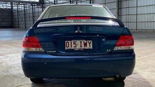 2004 Mitsubishi Lancer CH MY05 ES Blue 4 Speed Automatic Sedan